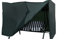 Hanging porch swing covers
