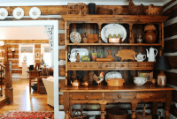 Kitchen Hutch Buffet or Cabinet Decoration Ideas for the Loveable House