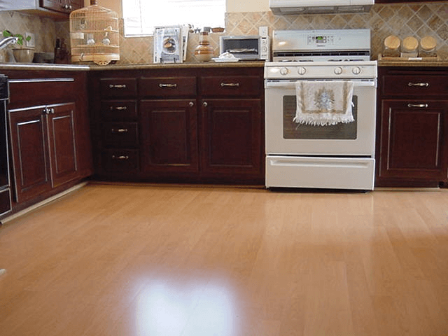 Kitchen floor vinyl or laminate