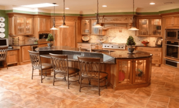 Latest kitchen flooring trends