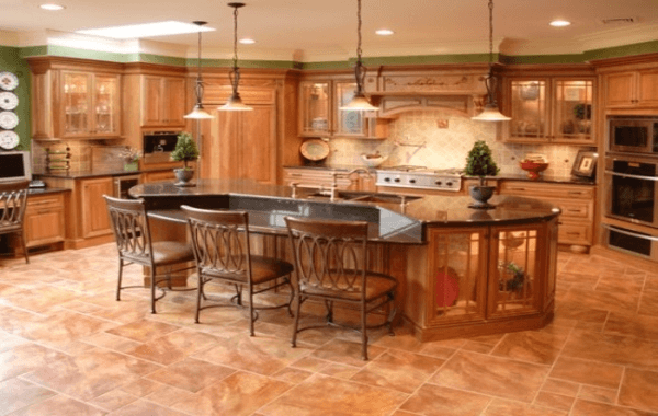 Latest kitchen flooring trends