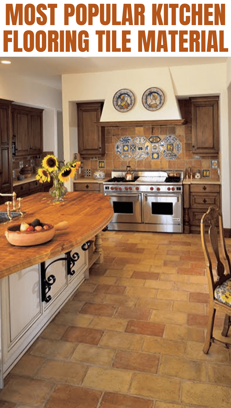 MOST POPULAR KITCHEN FLOORING TILE MATERIAL