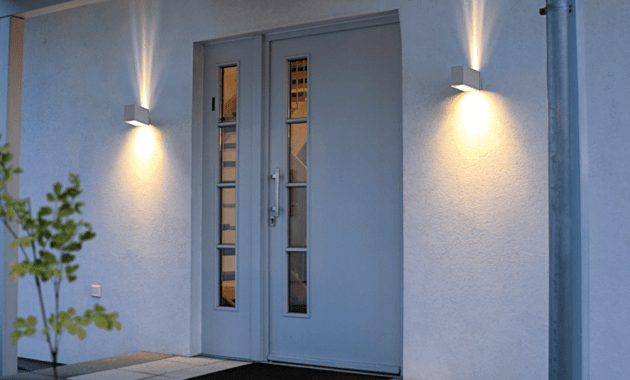 Modern front porch lights