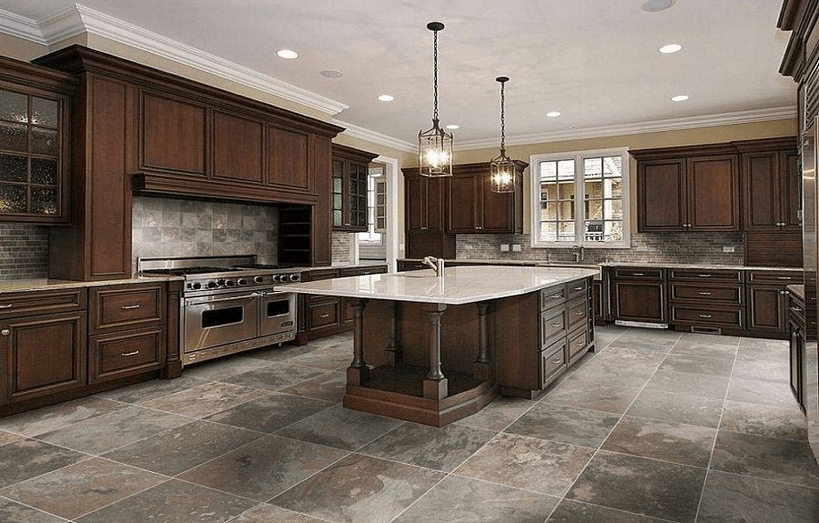 Most popular kitchen flooring design ideas for Popular kitchen tile floors