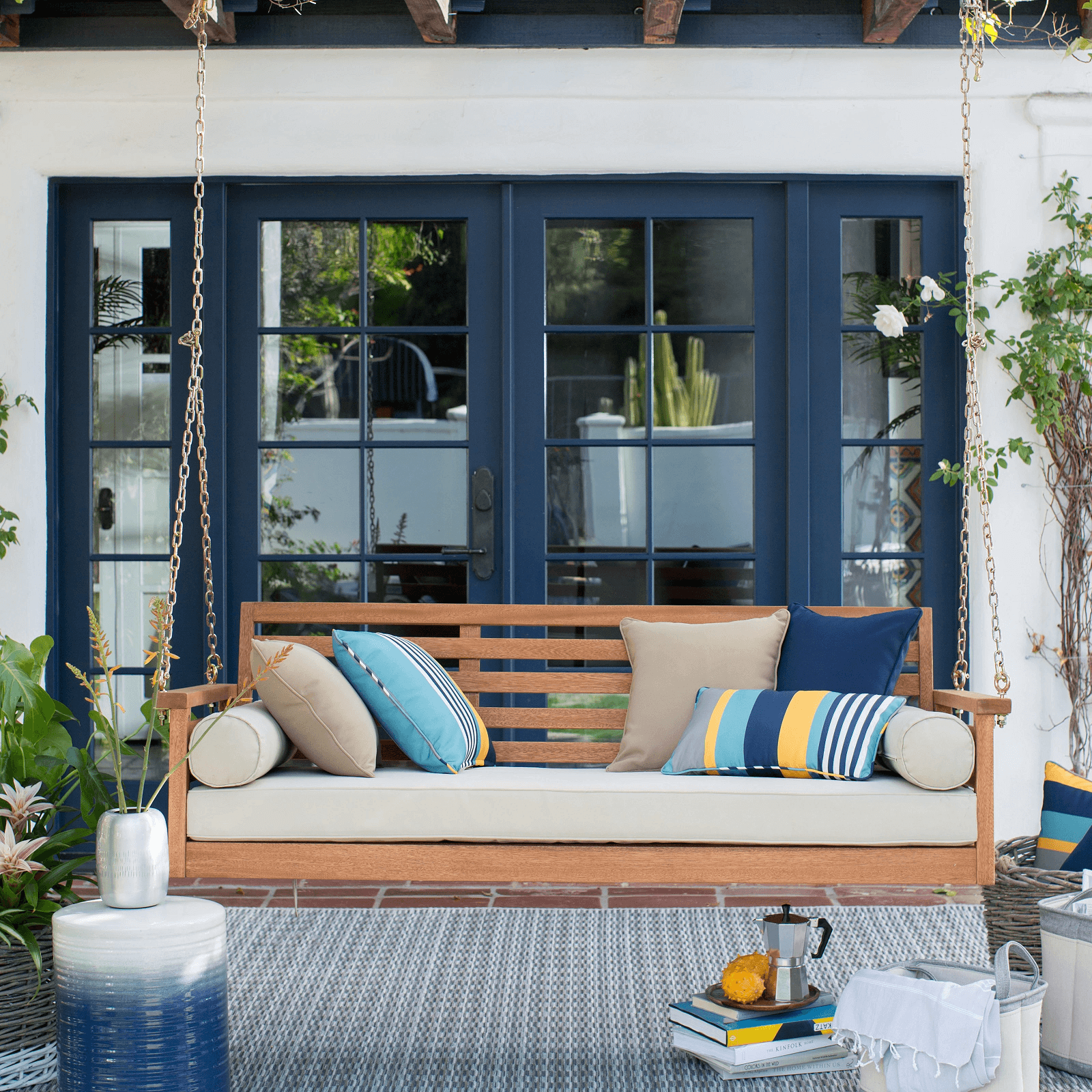 Nice decoratioan Porch Swing Bed Cushions