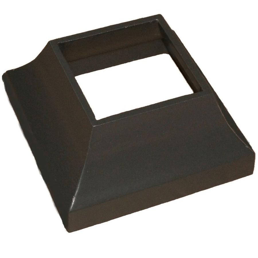 Porch post base aluminum