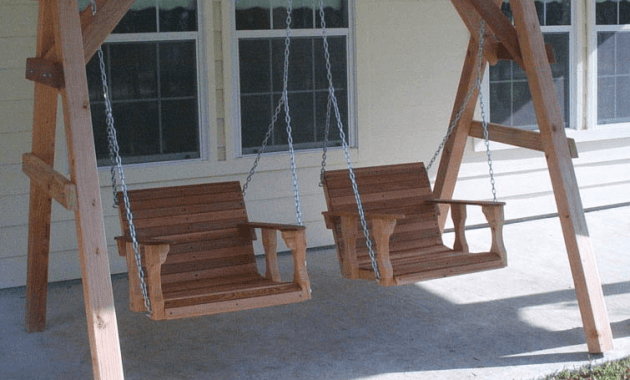 How To Build Small Wooden Porch Swing Glider Frame