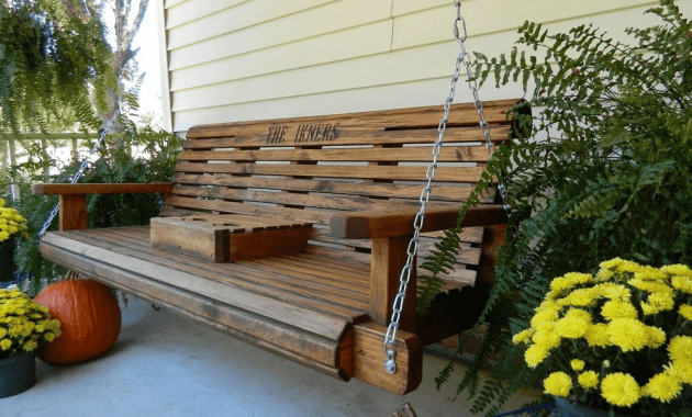 Porch swing hanging kit