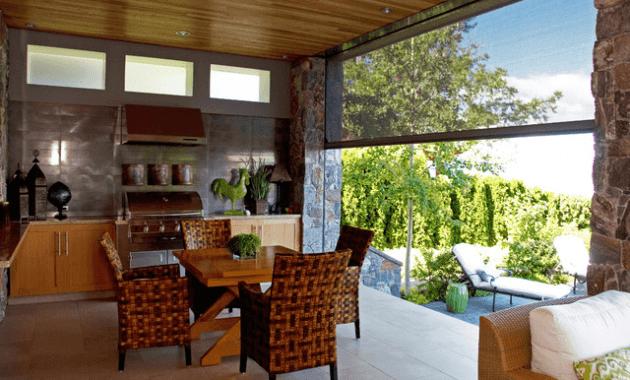 Retractable patio screen enclosures contemporary design