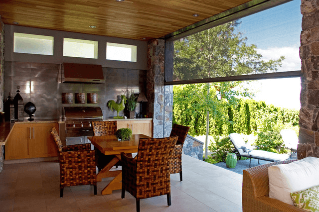 Retractable patio screen enclosures contemporary design