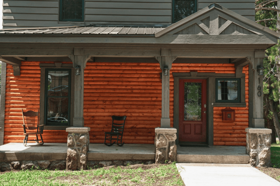 Diy Stone Porch Posts Wraps