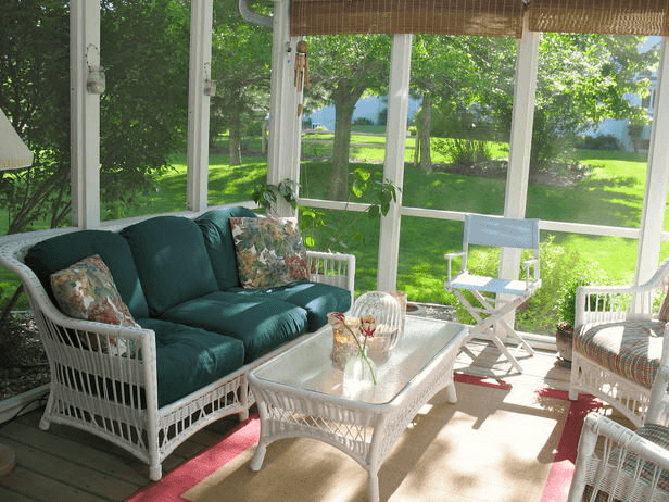 Screen Porch Weather Curtains