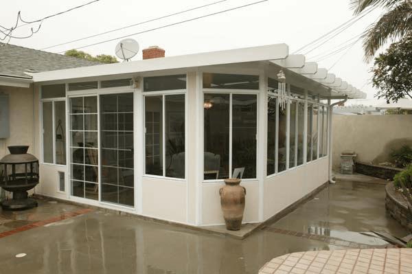 Screen enclosure patio room sunroom porches