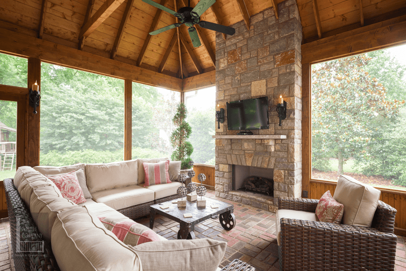 Screened In Porch Design Ideas