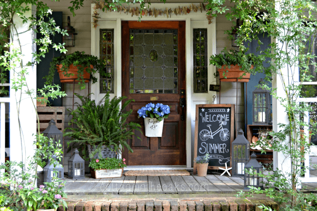 Small Front Door Decor