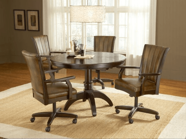 Dining room chair casters