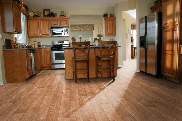 Vinyl kitchen flooring pictures