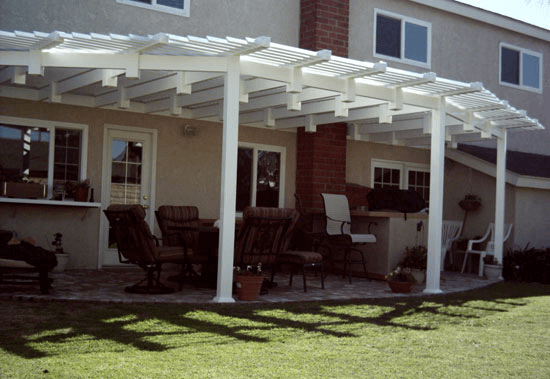 Vinyl patio covers orange county