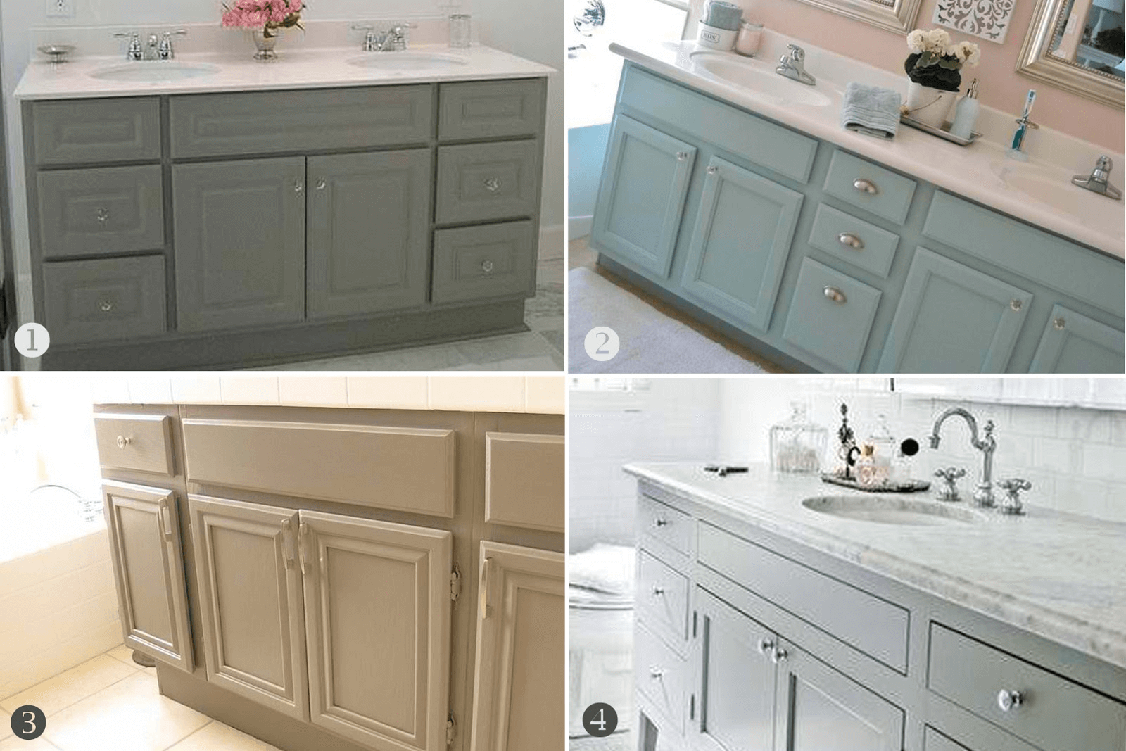 Bathroom Cabinets Color Paint Ideas