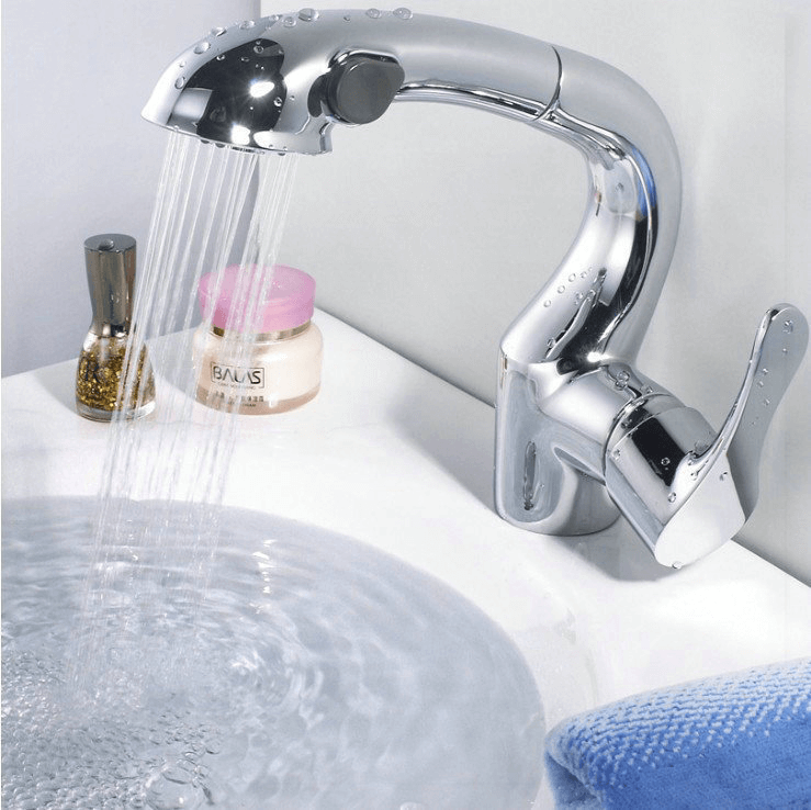 Bathroom Faucets With Pull Out Sprayer