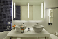 Bathroom Light Fixtures Led