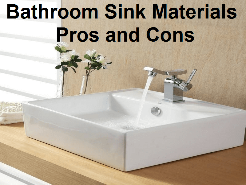 ceramic kitchen sinks pros and cons bathroom sink materials pros and cons 9386