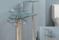 Bathroom Vanity With Glass Top