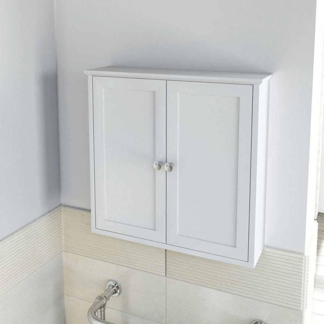 white wall mounted bathroom cabinets how to choose the best bathroom cabinets wall mount 24698 | Bathroom cabinets wall mounted white suitable for small space