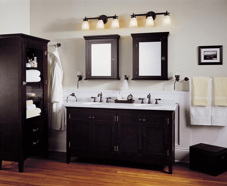 Bathroom light fixtures modern