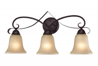 Bathroom light fixtures oil rubbed bronze