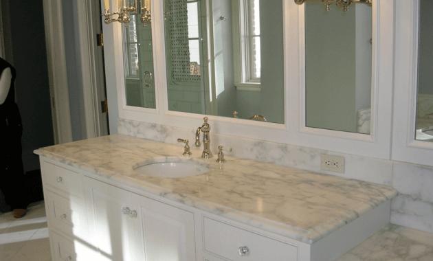 Bathroom vanities with granite countertops