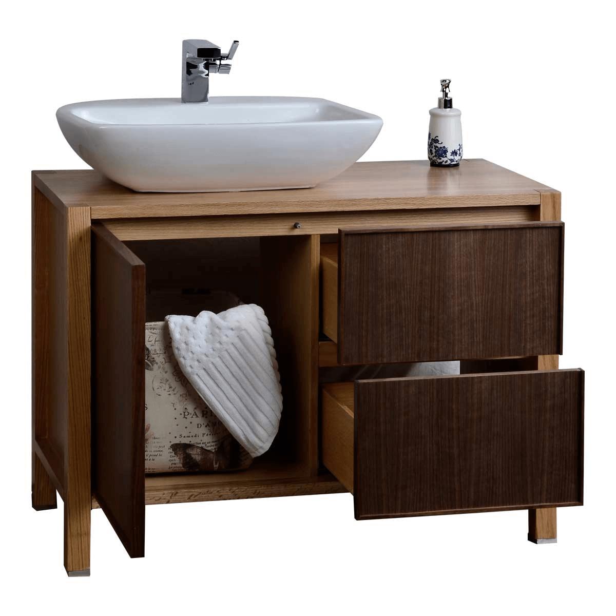 Bathroom vanity cabinets solid wood