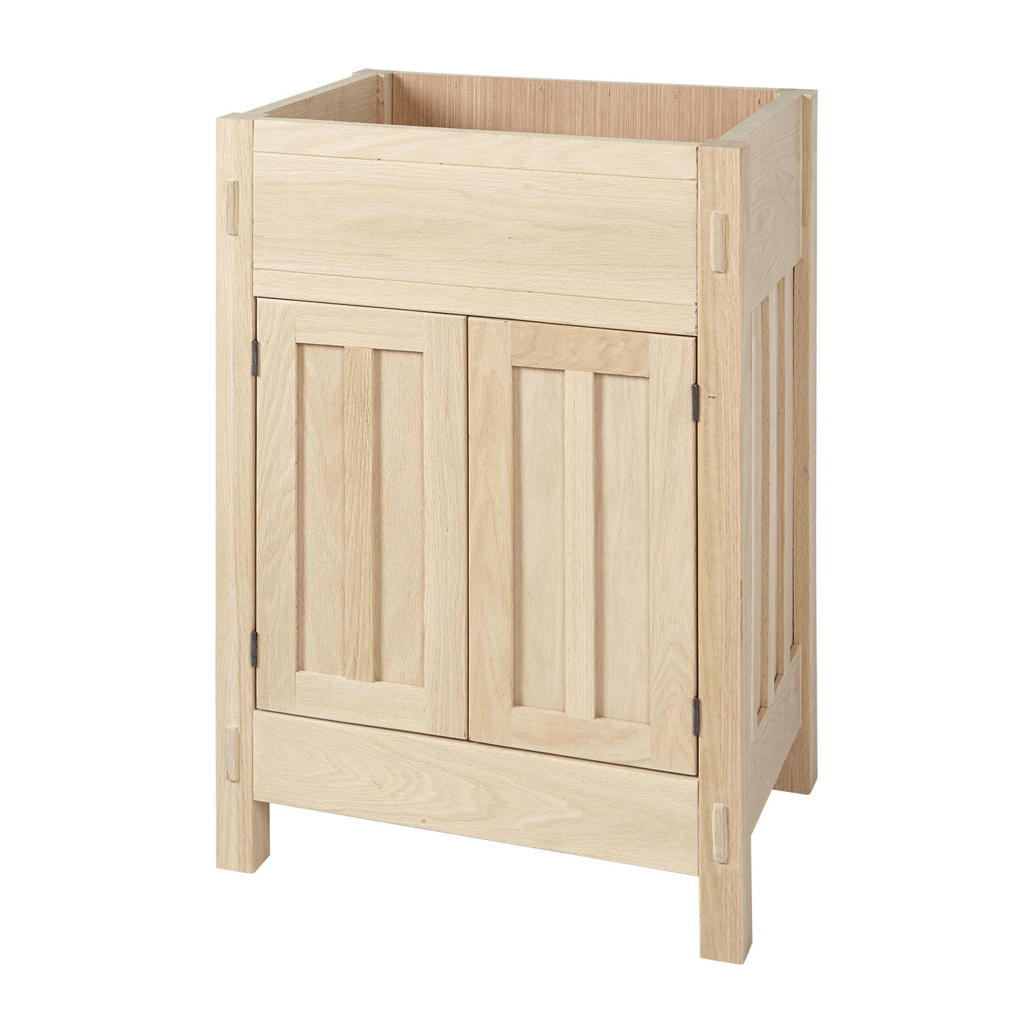 All about bathroom vanity base cabinet unfinished for Unfinished wood bathroom cabinets