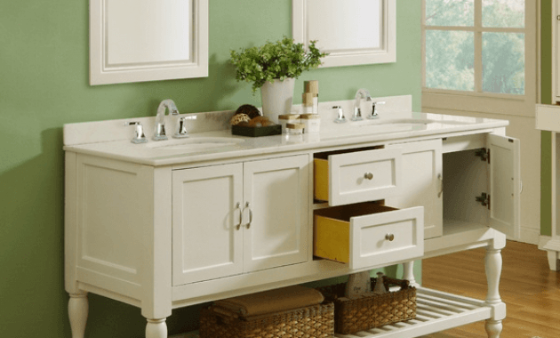 Bathroom vanity cabinets with legs