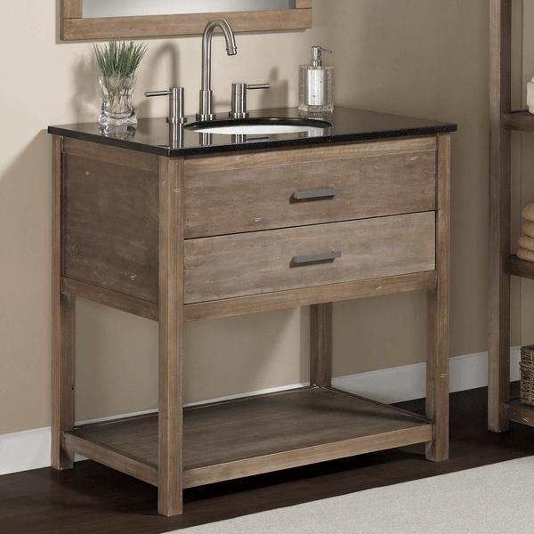 Bathroom vanity tops with single sink