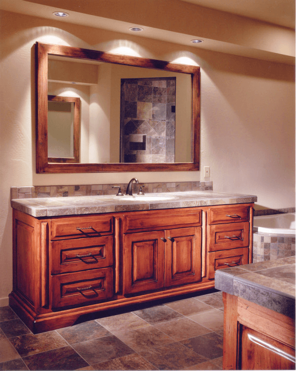 How To Make Your Own Bathroom Vanities Without Tops