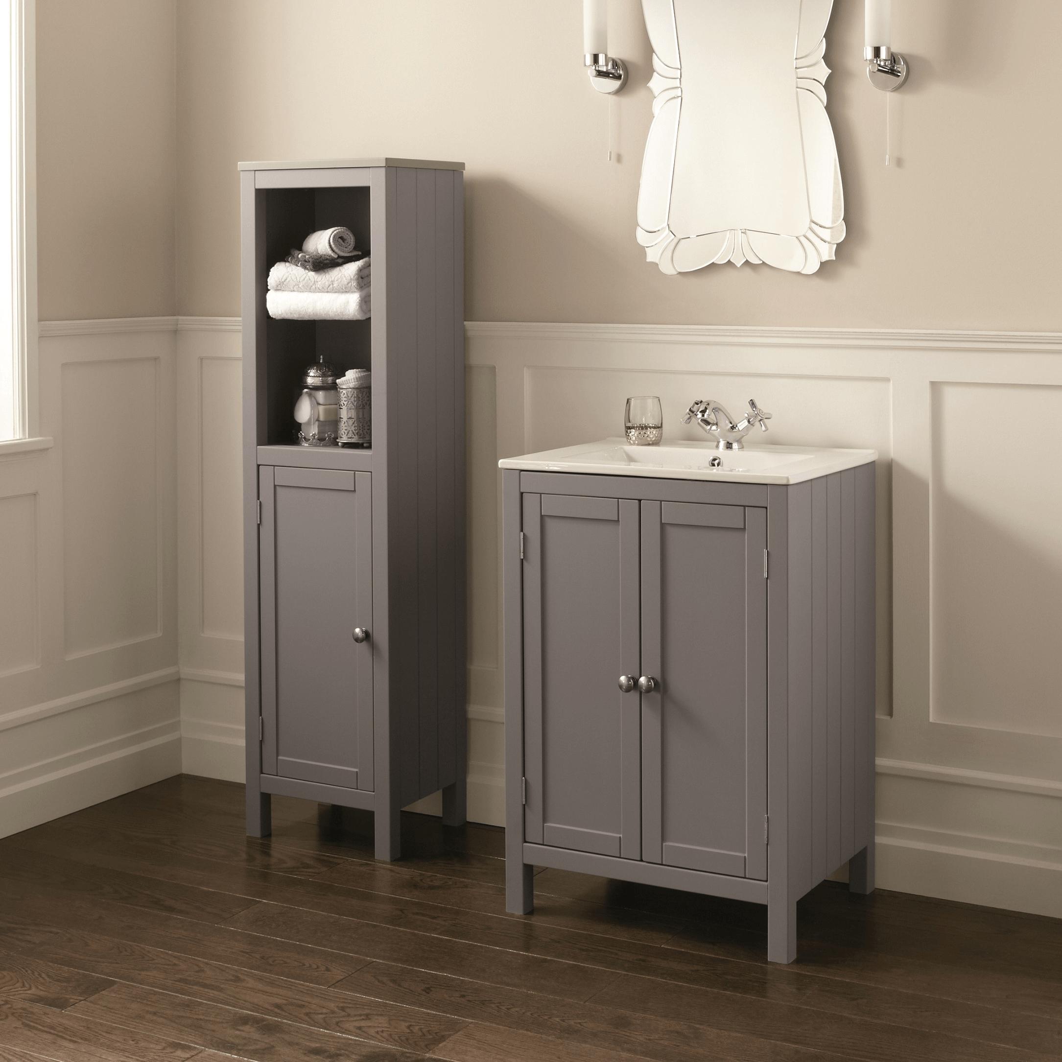 How tall are bathroom vanity