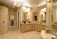 L Shaped Bathroom Cabinets
