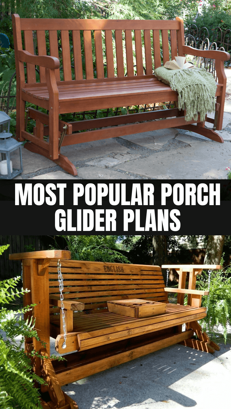 MOST POPULAR PORCH GLIDER PLANS