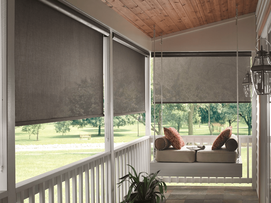 Outside blinds for windows