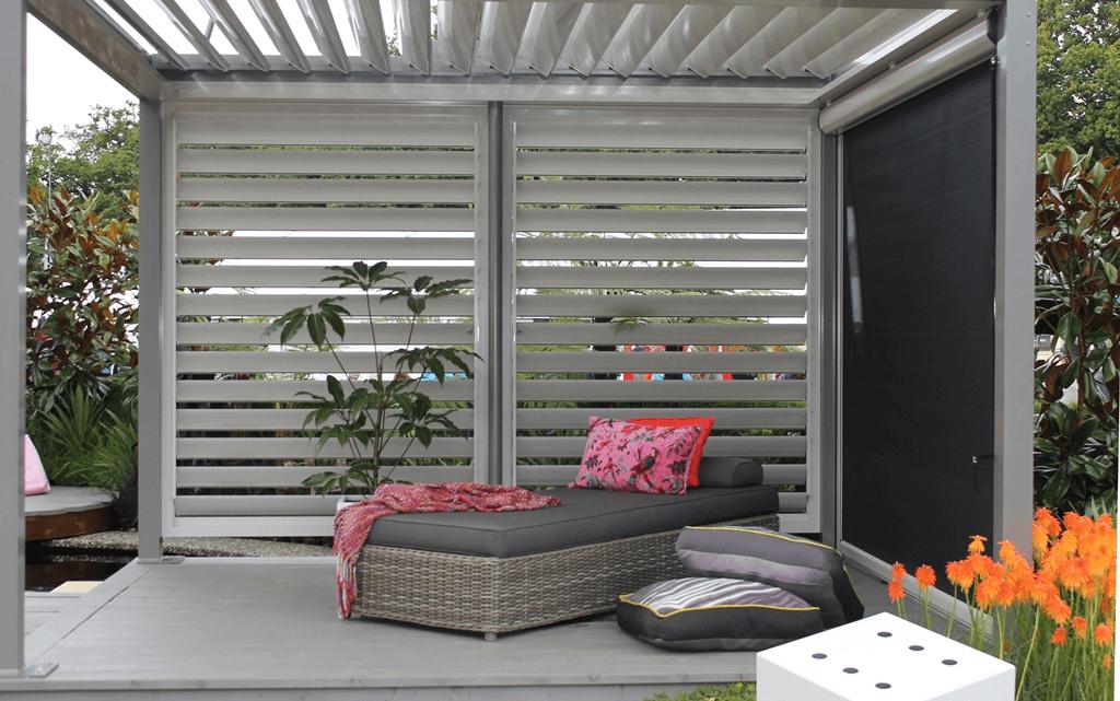 Porch rain blinds