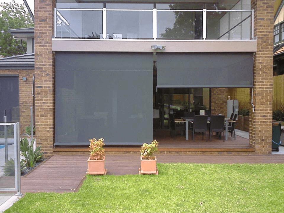 Porch shades outdoor