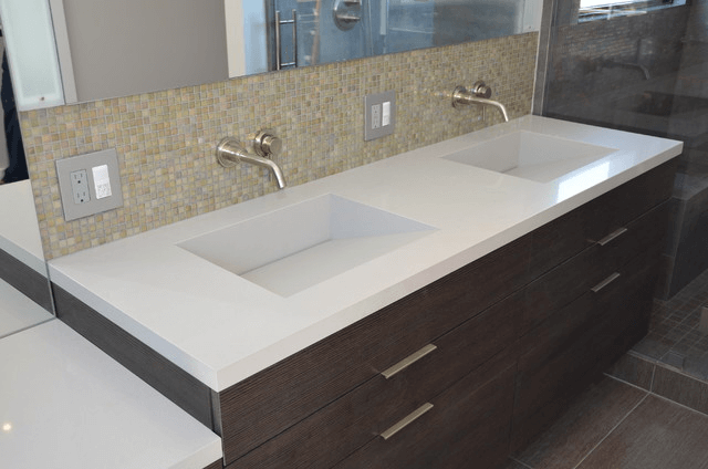 Quartz Bathroom Vanity Tops With SinkTips To Choose Quartz Bathroom Vanity Tops With Sink. Vanity Tops With Sink. Home Design Ideas