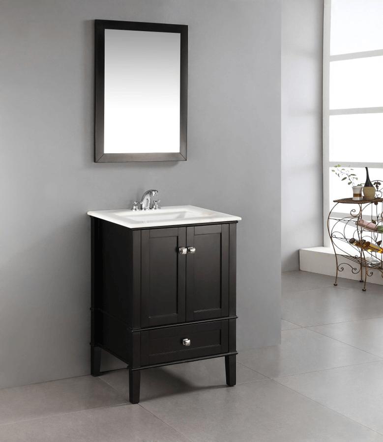 Small bathroom vanity cabinet 24 inch