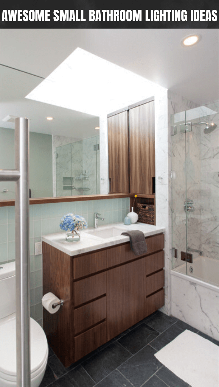 AWESOME SMALL BATHROOM LIGHTING IDEAS