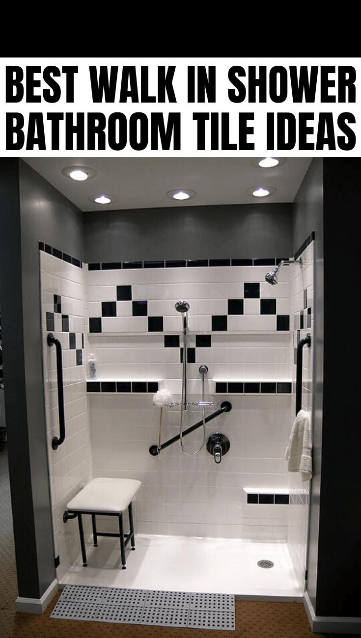 BEST WALK IN SHOWER BATHROOM TILE IDEAS