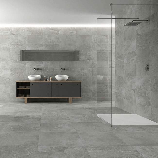 Bathroom Concrete Tiles