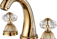 Bathroom Faucets with Crystal Handles