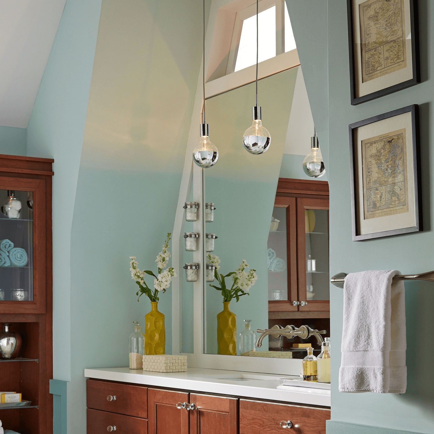 Bathroom pendant lighting ideas for beginners for Pendant lighting for bathroom vanity