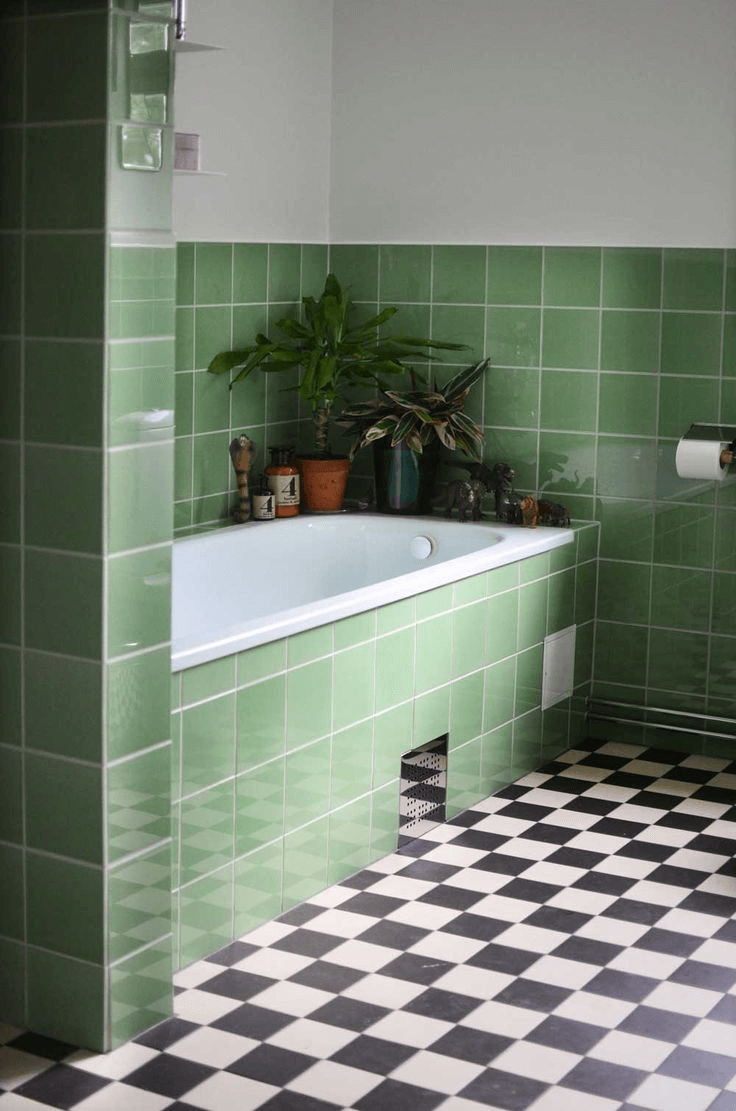 Top 8 Bathroom Tile Ideas Green